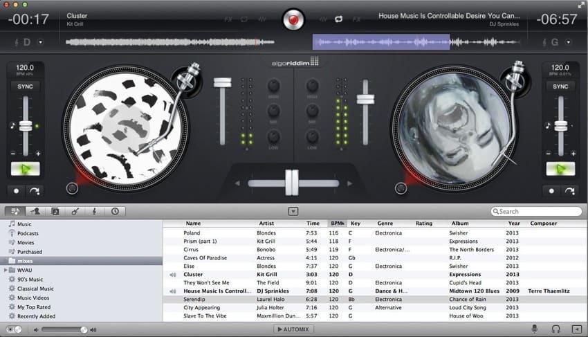 djay aplicativo para Mac