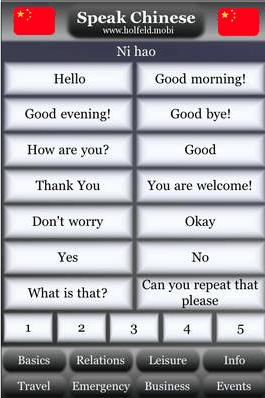 Speak Chinese para aprender mandarim