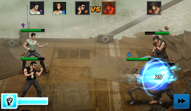 Rage of the Immortals como jogo