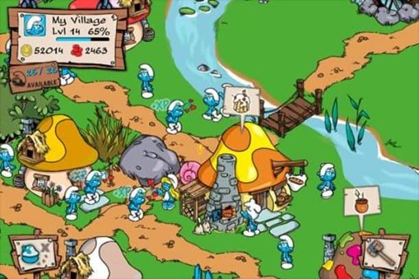 Smurfs Village dicas para Android
