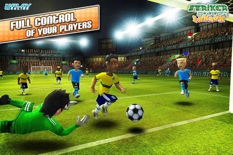 Striker Soccer London como jogar no Android