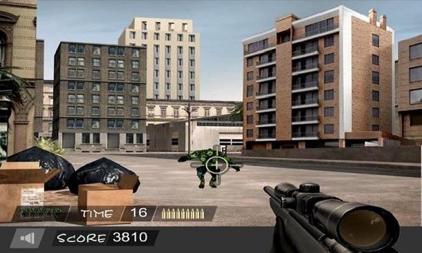 Sniper Hero como jogar