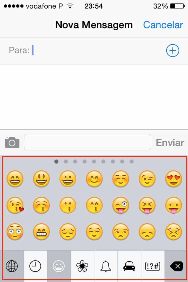 coisas incomuns que o iPhone faz smiles