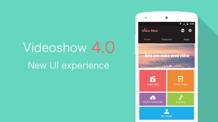 videoshow is one of the best video editors for android