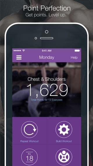 aplicativos de corrida para iPhone Fitocracy