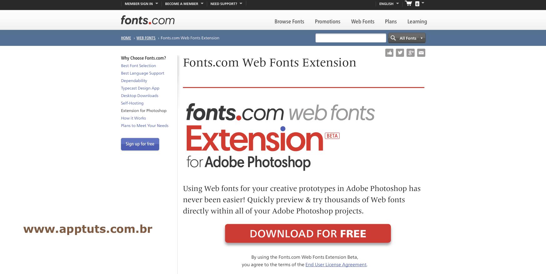 extensões grátis para photoshop