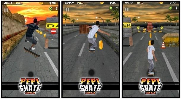 PEPI Skate 3D para Android