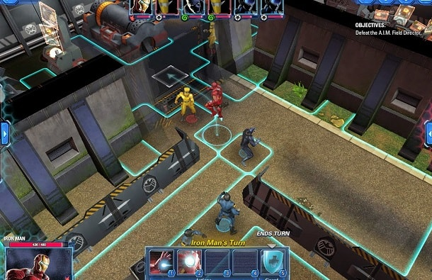 Preview Avengers Alliance Tactics jogos