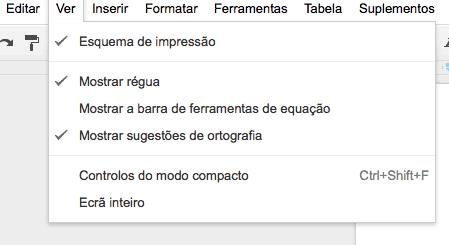 segredos do Google Drive tela cheia