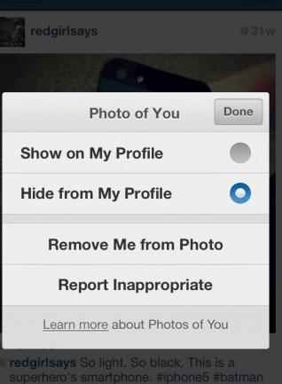 truques e dicas para Instagram Remover Tag