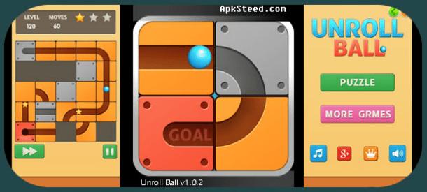 Unroll Ball para Android