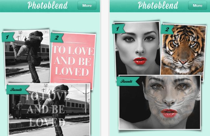 montagens no Instagram photoblend