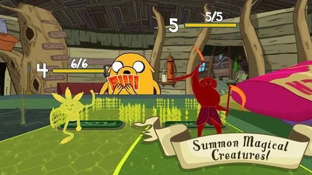 Adventure Time Card Wars para iPhone e iPad