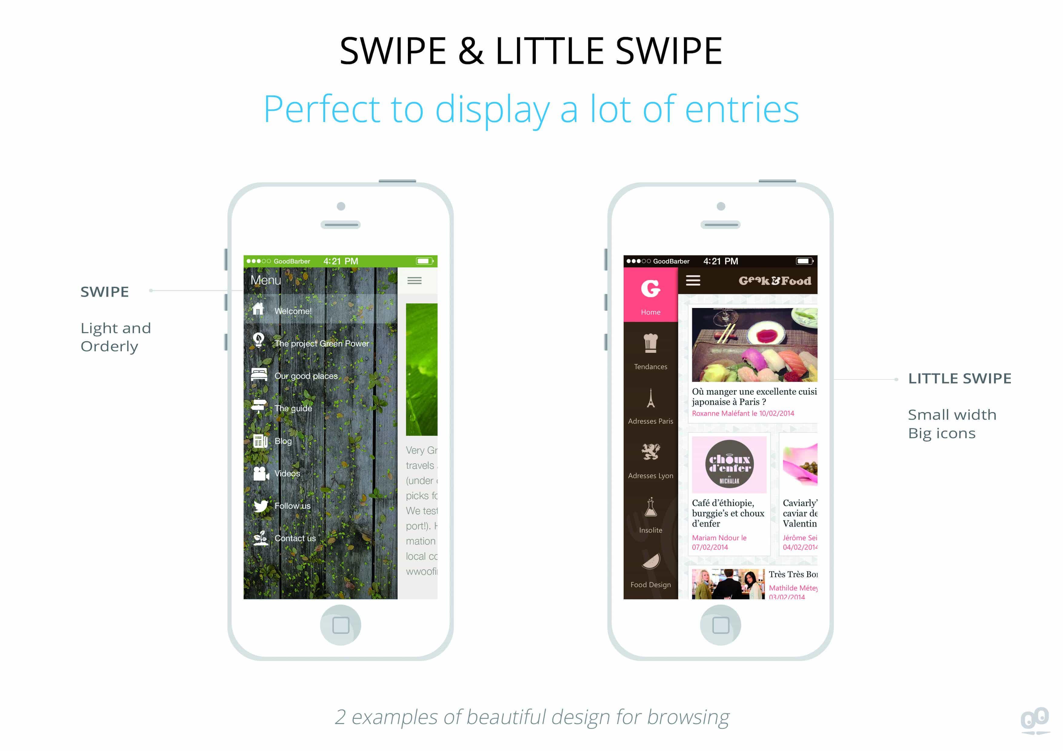 BrowsingMode-GB-Swipe GoodBarber