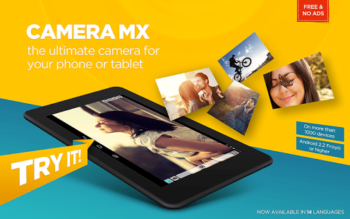 Camera MX para Android
