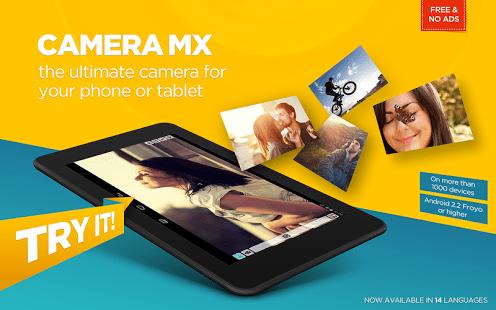 aplicativos para criar vídeos Camera MX