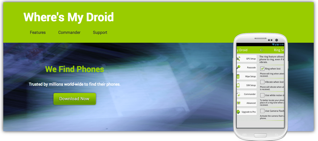 Android roubado