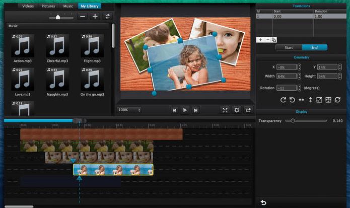 editores de vídeo para Mac Cut Pro