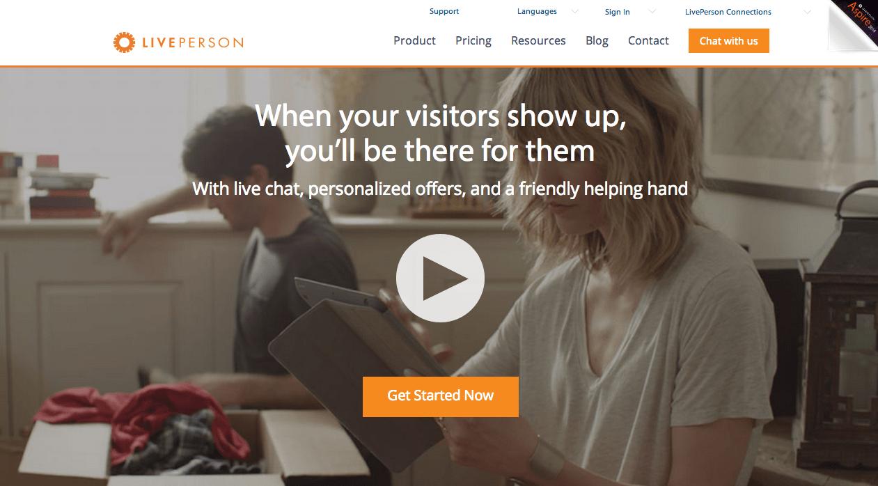 LivePerson chat ao vivo