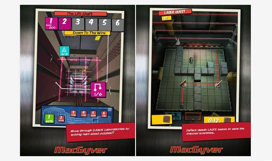 MacGyver Descida Mortal para Android