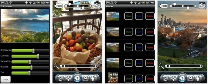 melhorar câmera do Android Pro HDR Camera