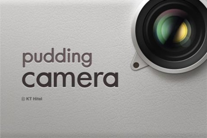 melhorar câmera do Android Pudding Camera