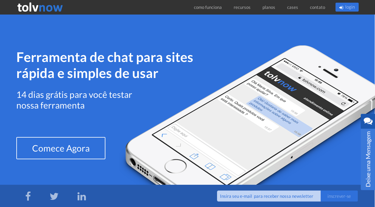 chat online para ecommerce TolvNow