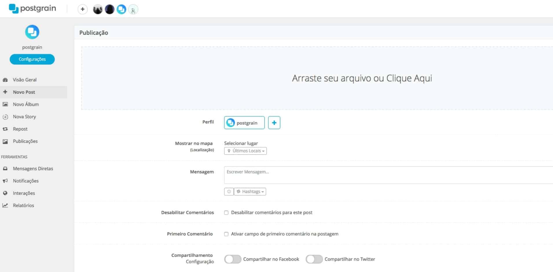 aplicativos-de-instagram-para-agencias-postgrain