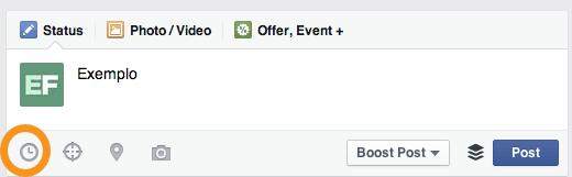 programar publicações no facebook dicas