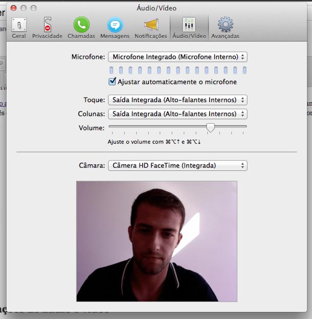 começar a usar o Skype configurar o som
