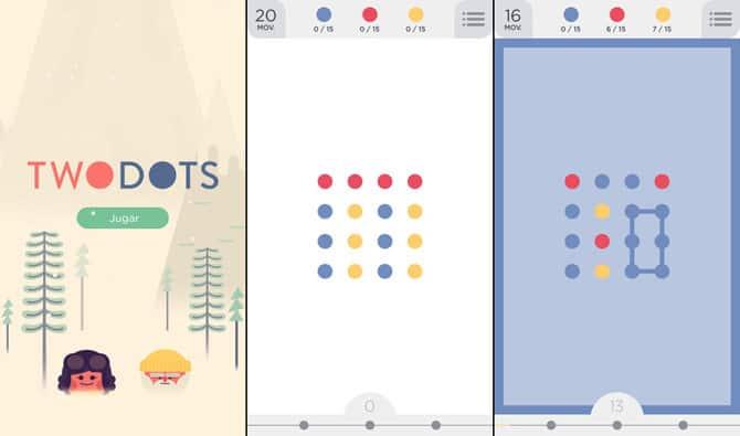jogos minimalistas twodots