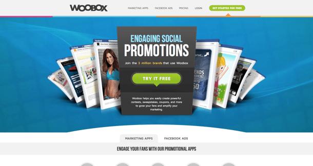 woobox para promoções no Facebook