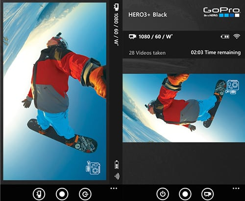 apps de video GoPRo
