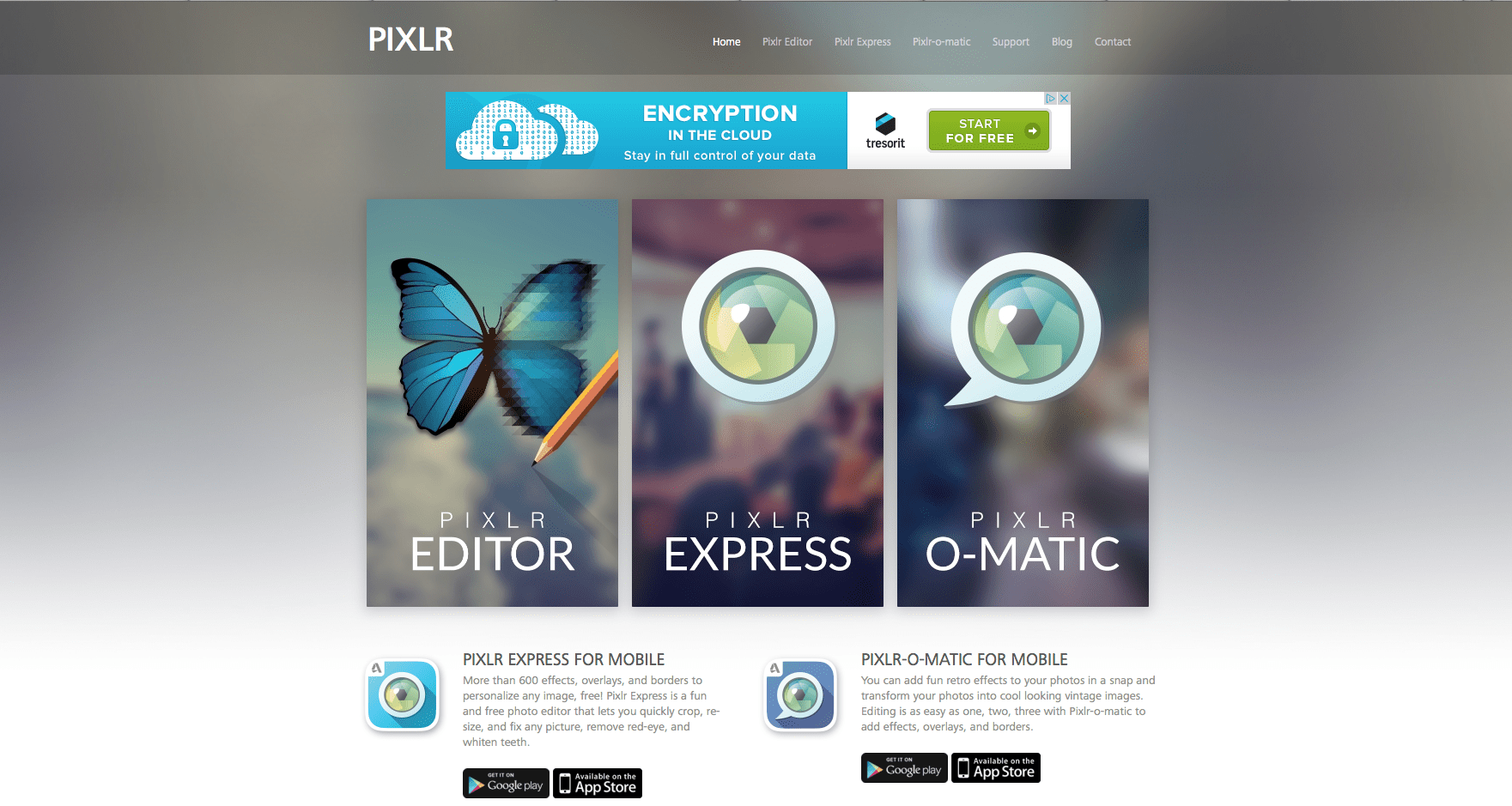 Pixlr best free iPhone apps