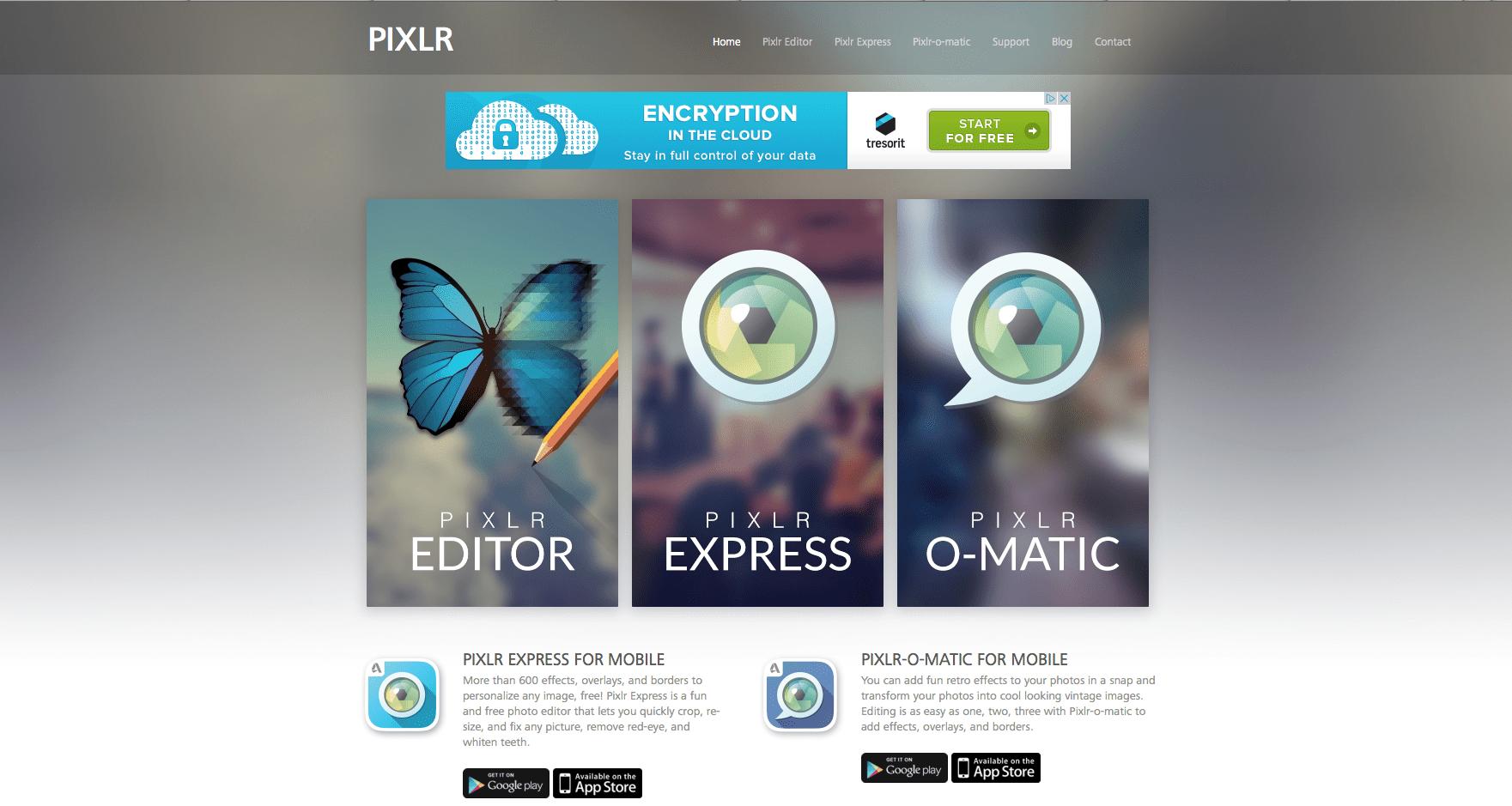 aplicativos para criar imagens pixlr