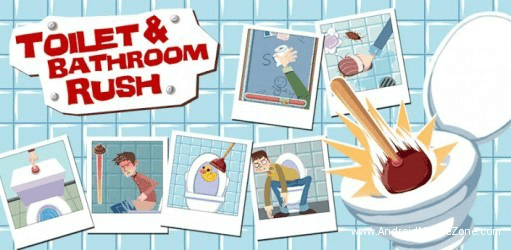 Toilet and Bathroom Rush como jogar