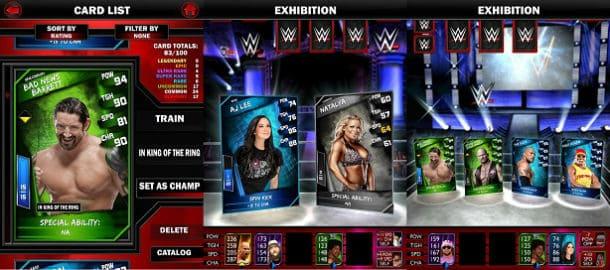 WWE Supercard para iPhone