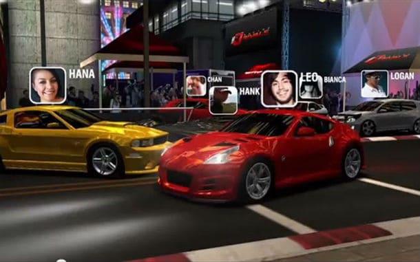 Racing Rivals para iPhone