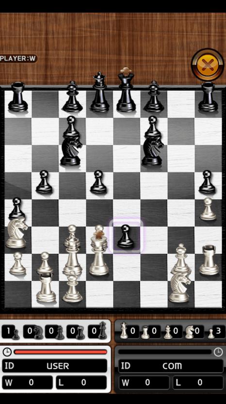 O rei do Xadrez jogo para Android