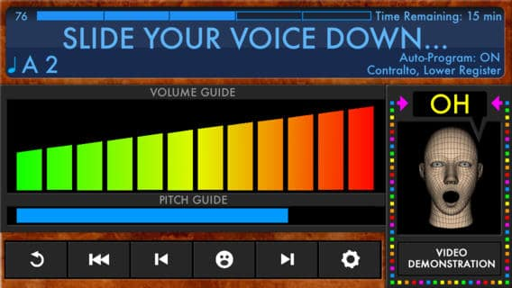 treinar a sua voz Voice Builder
