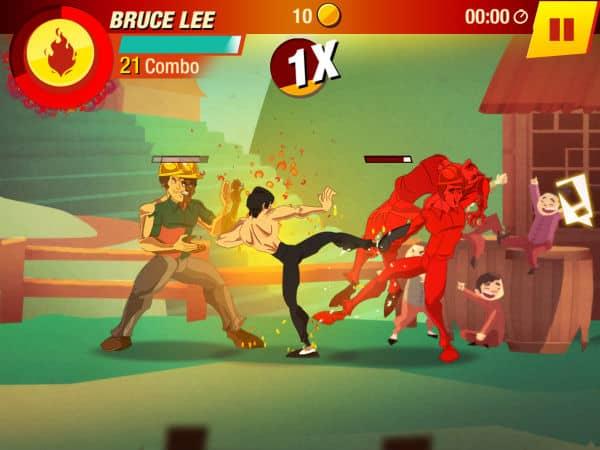 Bruce Lee Entre no Jogo