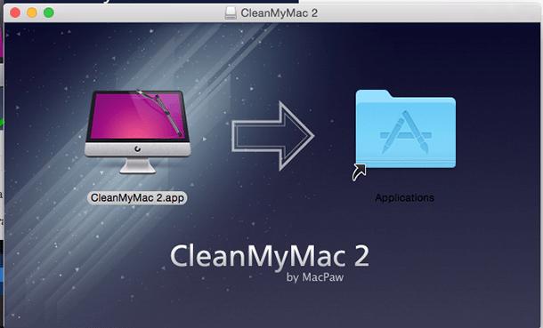CleanMyMac instalação