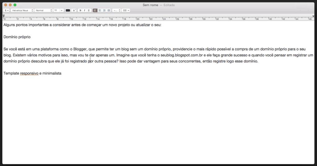 remover a formatação no Mac passo 2