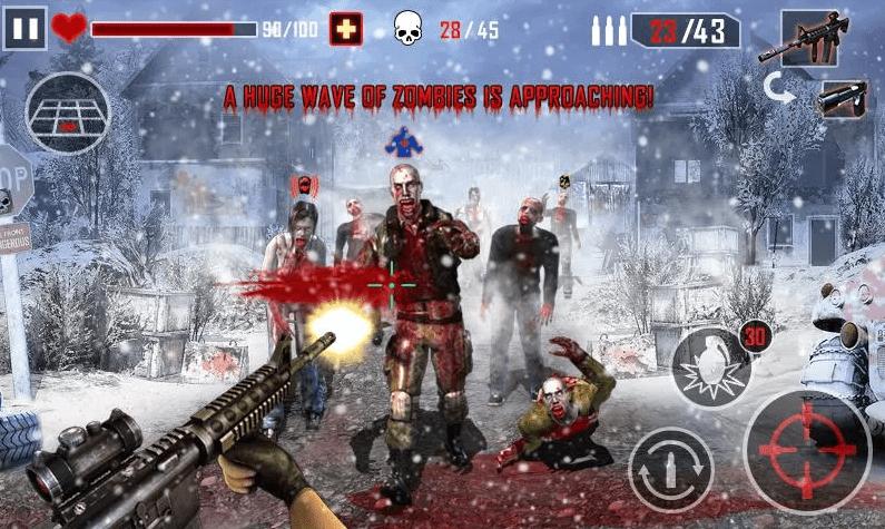 Assassino de Zumbis jogos de tiro grátis