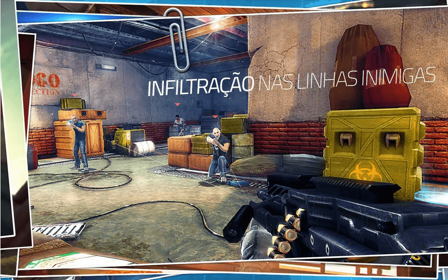 Contact Killer Sniper jogos de tiro grátis