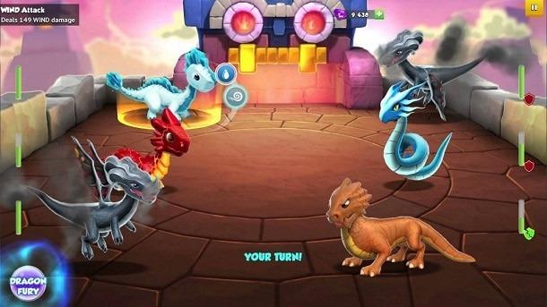 Dragon Mania A Lenda para iPhone