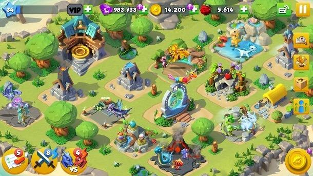 Dragon Mania A Lenda para Android