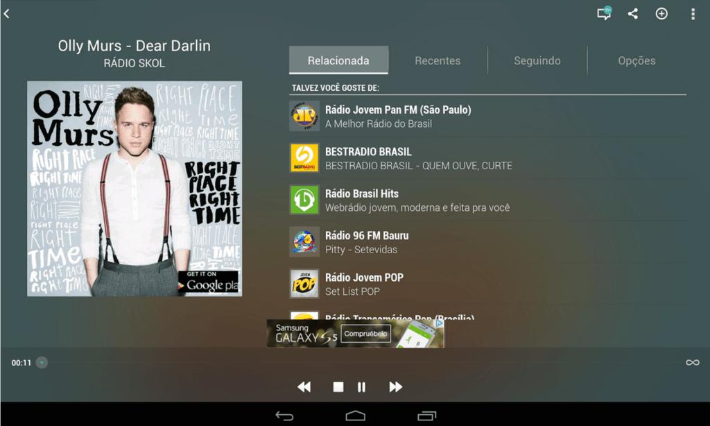 TuneIn Radio para Android