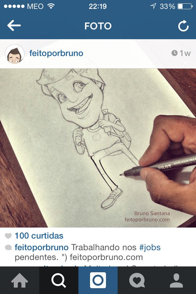 teaser no instagram