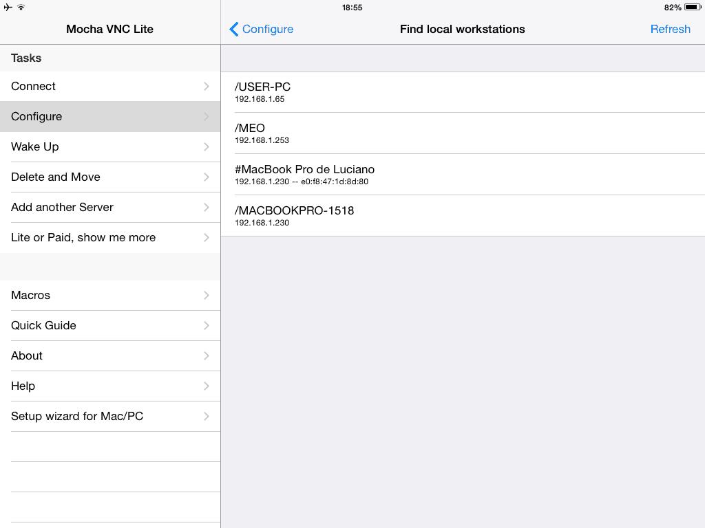 Acessar remotamente o Mac passo 5